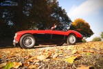 Austin Healey 100M on carphile.co.uk,