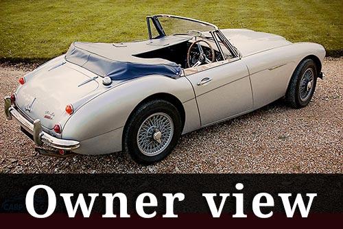 Austin-Healey 3000-owner-view - carphile.co.uk