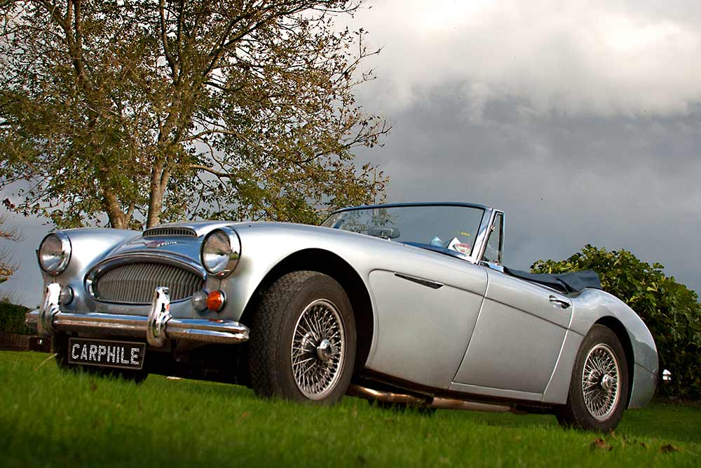 The history of the Austin-Healey 3000 sports car carphile