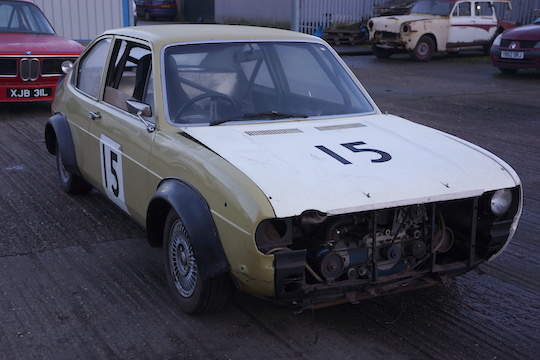 Alfasud Race Car - Angla Auctions