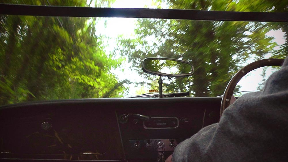 Austin-Healey 3000 driving
