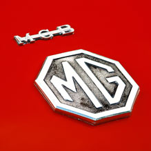 MG MGB badge