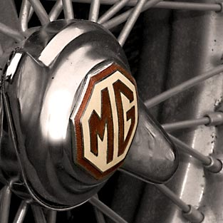 MG cars badge - mg cars history - carphile.co.uk