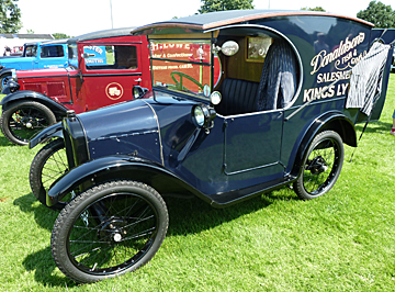 52nd Austin 7 Rally 6th July 2014