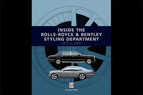 Inside Rolls Royce book, veloce