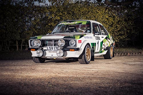 1977 Ford Escort Mk2 RS1800 Gp4 Historic Rally Car (Colin McRae) at Silverstone auctions 2014