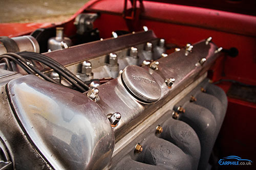 Jaguar XK120 technical