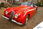 Jaguar XK 120 sports car
