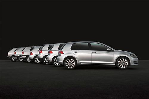 Happy Birthday Volkswagen Golf