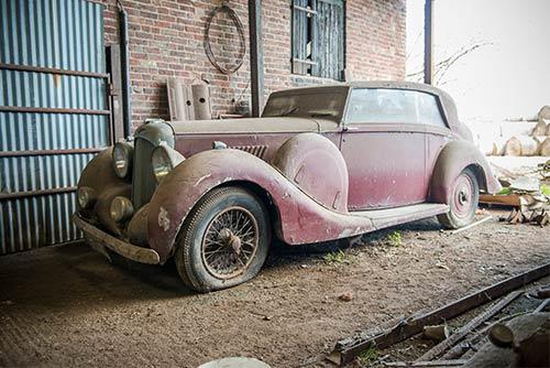 Rare Lagonda V12