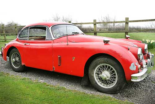 XK150 barn find