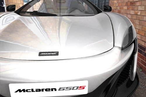 McLaren 650S App