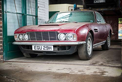 Aston Martin DBS Restoration Projects For Sale At Restoration Show - Aston martin restoration project for sale
