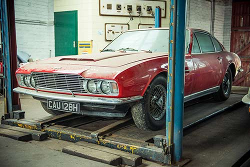 Aston Martin DBS restoration projects