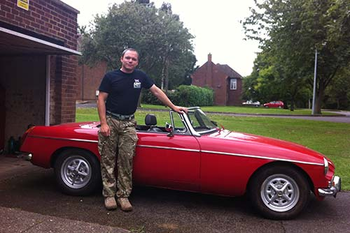 Footman James support charity restoration