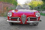 1960 Alfa Romeo Giulietta Spider for sale at Historics June 2014 Auction