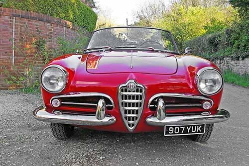 1960 Alfa Romeo Giulietta Spider for sale at Historics June 2014 Auction
