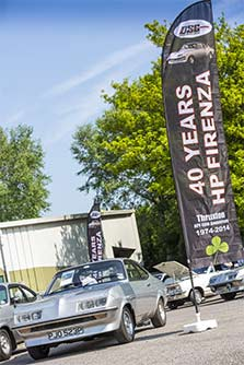 The Droop Snoot Group celebrated the Vauxhall Firenza Droop Snoot's 40th anniversary