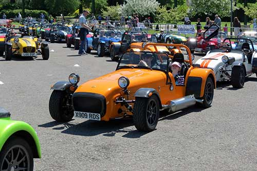 Lotus seven owners club international meeting 2014
