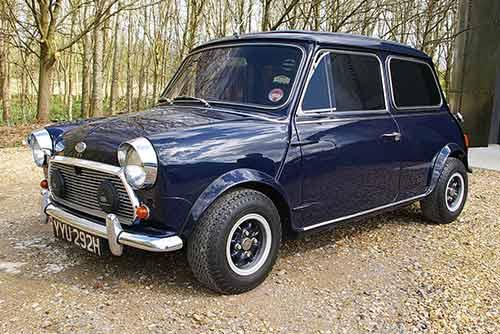 A unique 1969 Wood & Pickett Margrave Mini Cooper S for sale