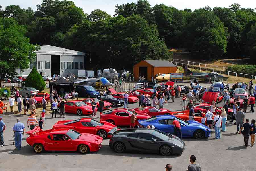 Brooklands Supercar Saturday 2014