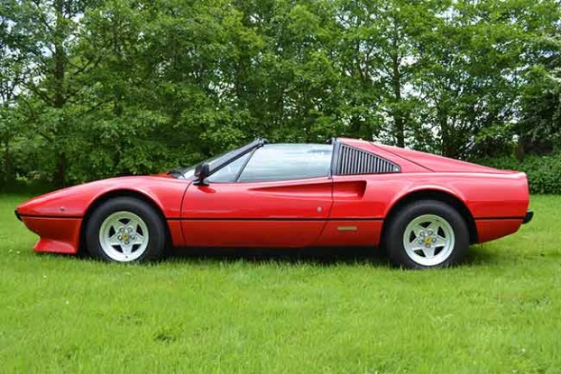 silverstone classic 2014 auction - Ferrari 308 GTS