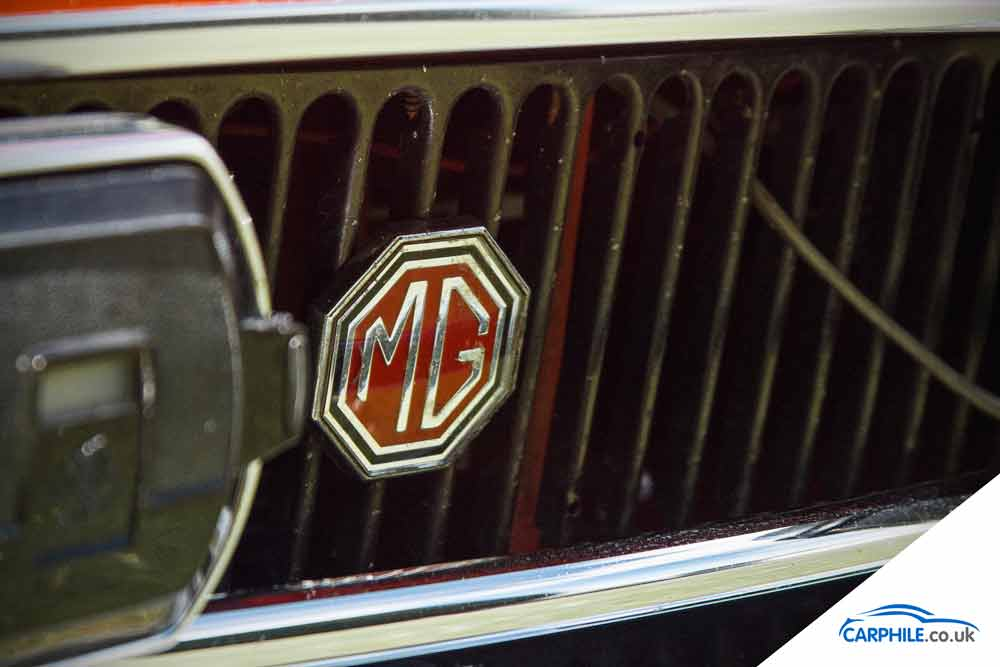 MG MGB photo gallery Mark 3 black grille