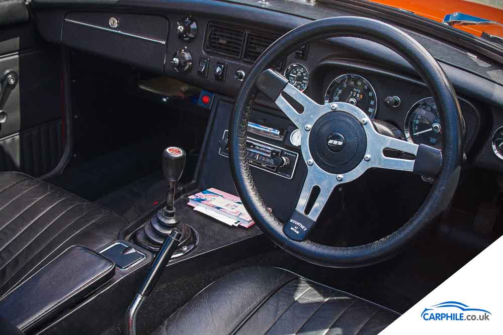 MG MGB photo gallery Mark 3 interior