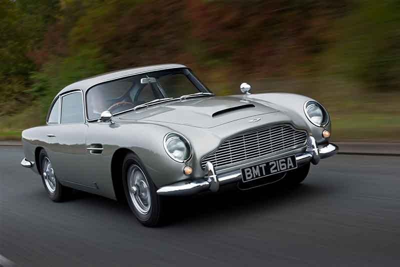 Aston Martin history - DB5 sports car - carphile