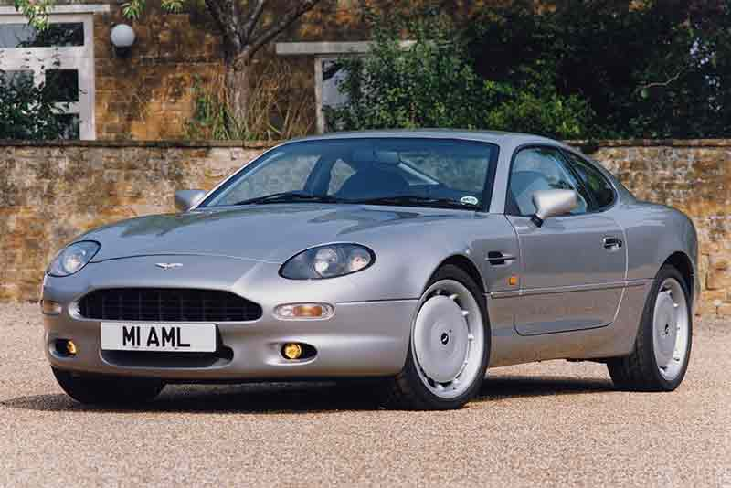 Aston Martin DB7 sports car - carphile