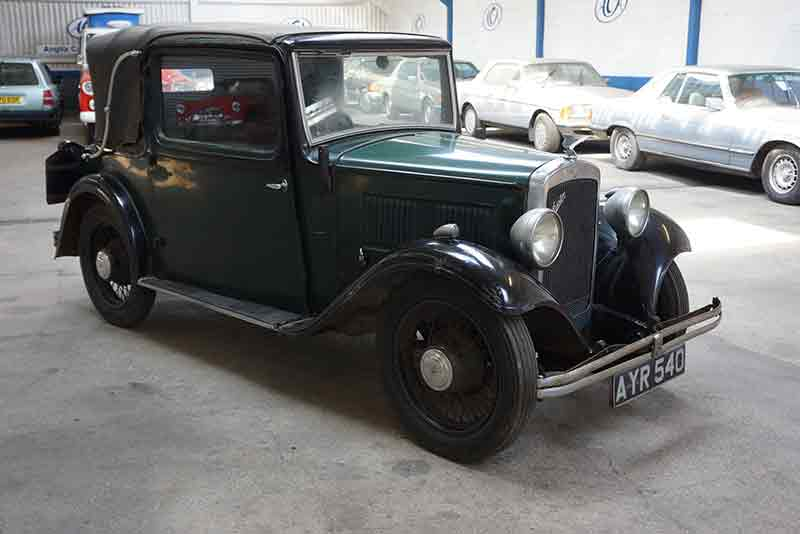 1934 Austin 10/4 Colwyn Drophead Coupe