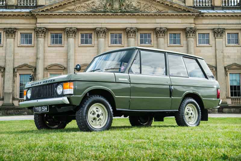 Range Rover chassis number 1 for sale - carphile.co.uk