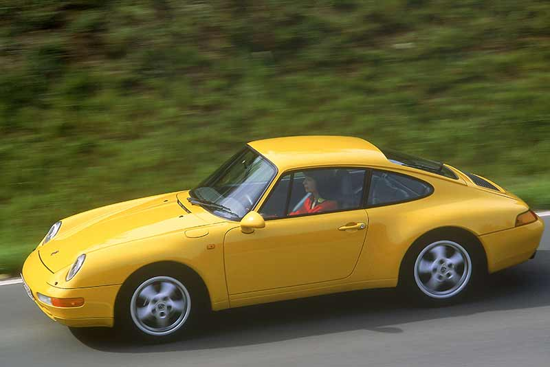 Porsche 911 (993) - The classic porsche market in 2014 - carphile