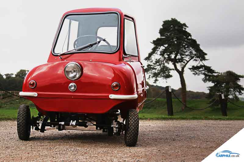 Peel P50 Front image - carphile.co.uk