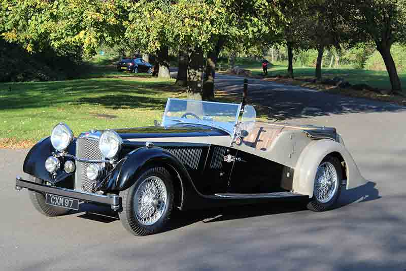 1936 Alvis Speed 20 Vanden Plas Tourer - coys True greats