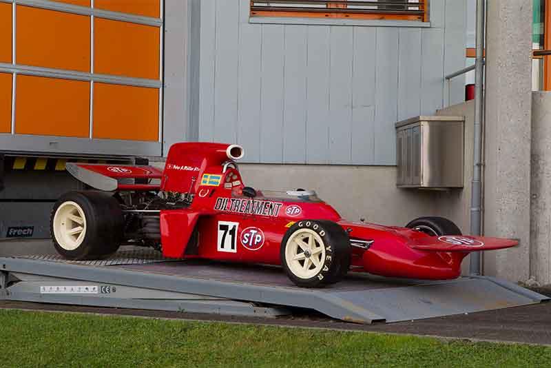 Coys True Greats - Niki Lauda first f1 car - carphile
