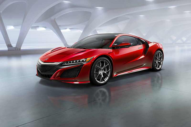 New Honda NSX (2015) - Detroit Motor show highlights. Carphile.co.uk