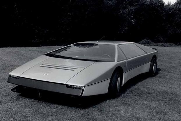 Aston Martin Bulldog super car History - carphile.co.uk