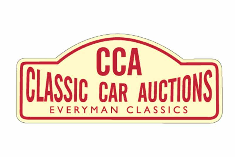CCA- Logo Classic Car Auctions Silverstone Sale - carphile.co.uk