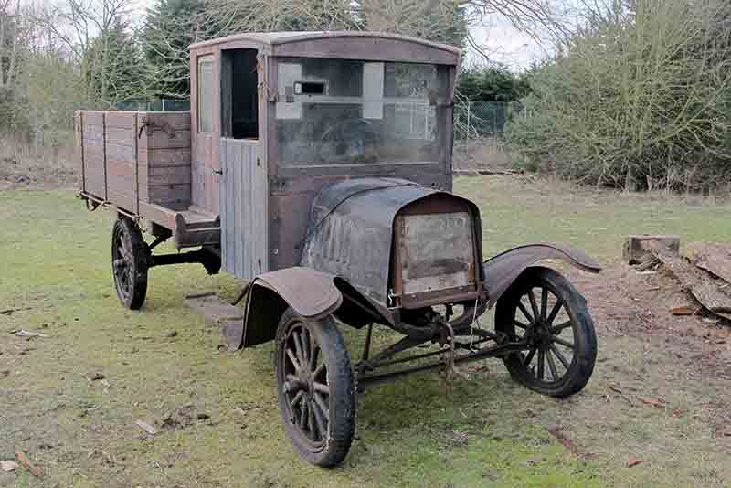 Ford Model T Pickup barn find - for sale at H&H Buxton Sale 2015 - carphile.co.uk