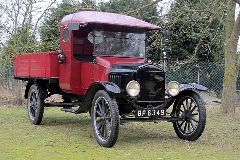 Ford Model T Pickup - for sale at H&H Buxton Sale 2015 - carphile.co.uk