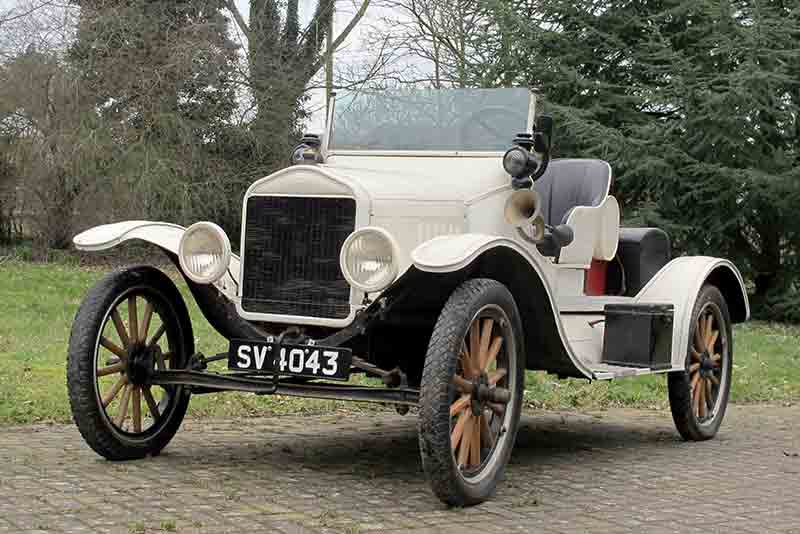 Ford Model T Speedster - for sale at H&H Buxton Sale 2015 - carphile.co.uk