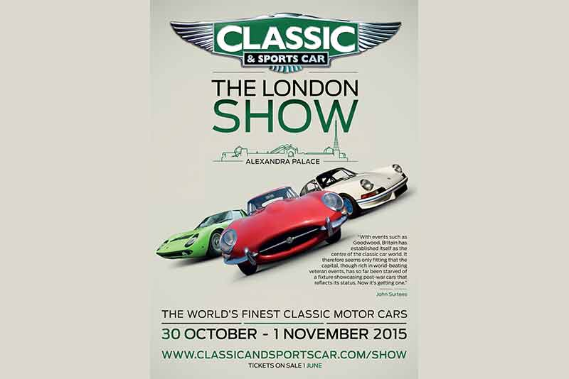 Classic & Sports Car – The London Show - Autumn 2015 - carphile.co.uk