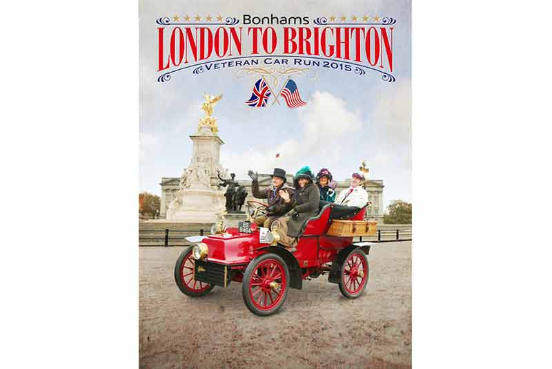 London to Brighton Veteran car run 2015 - find out more at carphile.co.uk