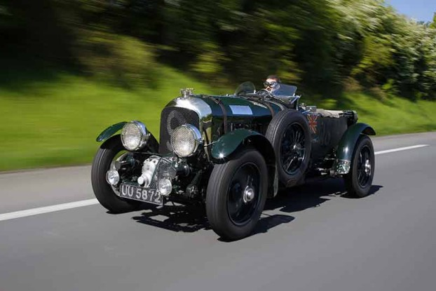 Bentley Blower - Bentley Motors return to Mille Miglia 2015 - carphile.co.uk
