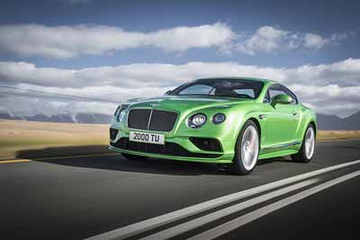 Bentley Continental GT Speed - Bentley History - carphile.co.uk