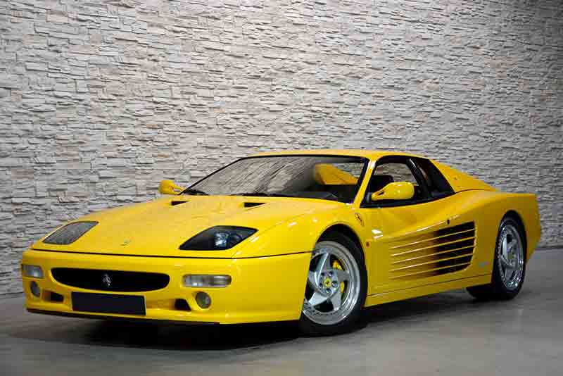 Rare Ferrari F512M - One of the star lots of Silverstone Auctions May Sale on 23rd May