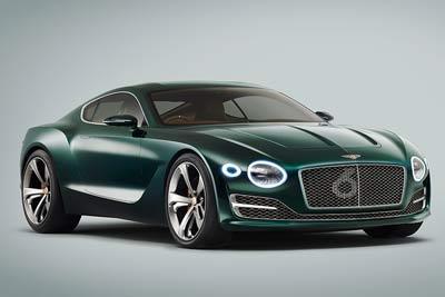Bentley EXP10 Speed 6 concept - Top 5 classic cars from Bentley - carphile.co.uk