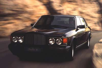 Bentley Turbo R - Top 5 classic cars from Bentley - carphile.co.uk
