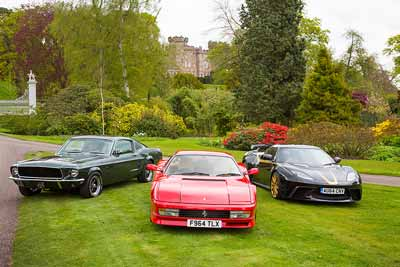Cholmondeley Pageant of Power 2015 - warm up video - carphile.co.uk